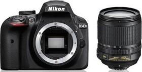 Nikon D3400 schwarz mit Objektiv AF-S VR DX 18-105mm 3.5-5.6G ED (VBA490K003)