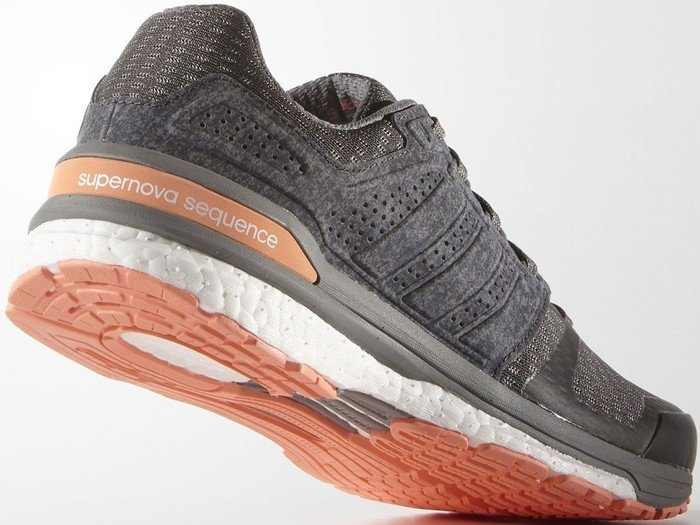 adidas Supernova Sequence Boost 8 solid greysun glow (Damen
