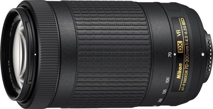 Nikon AF-P DX 70-300mm 4.5-6.3G ED VR black (JAA829DA)