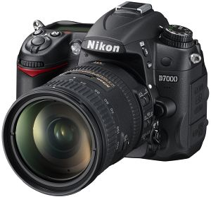 Nikon D7000 with third-party manufacturer lens