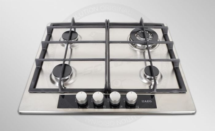 AEG Electrolux HG654440SM gas hob self-sufficient -- © My-Solution.de