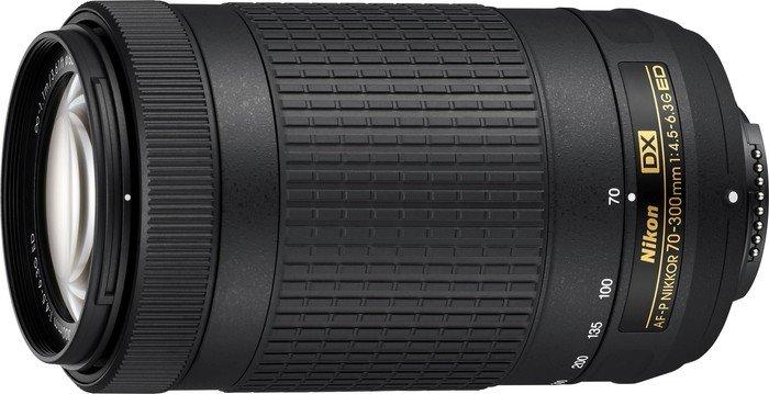 Nikon AF-P DX 70-300mm 4.5-6.3G ED schwarz (JAA828DA)