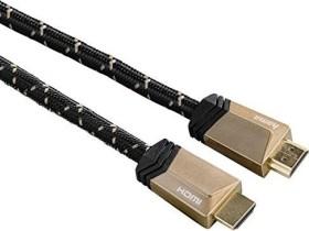 Hama Ultra High Speed HDMI cable, 8K, metal, black 3m (00122187)