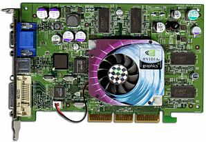 Sparkle SP7228DT, GeForce4 Ti4200 8X, 128MB, DDR, DVI, TV-out, AGP