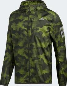 adidas Own The Run Camouflage Jacke tech olive/legend earth (Herren) (DZ2031)