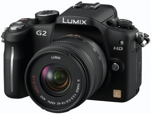 Panasonic Lumix DMC-G2 (EVIL) black with lens Lumix G vario 14-42mm 3.5-5.6 OIS (DMC-G2K)