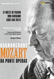 Wolfgang Amadeus Mozart - Le Nozze/Don Giovanni/Cosi fan tutte (DVD)