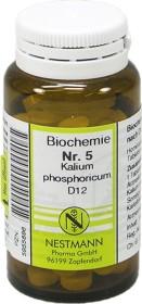Nestmann Biochemie 5 Kalium phosphoricum D12 Tabletten, 100 Stück
