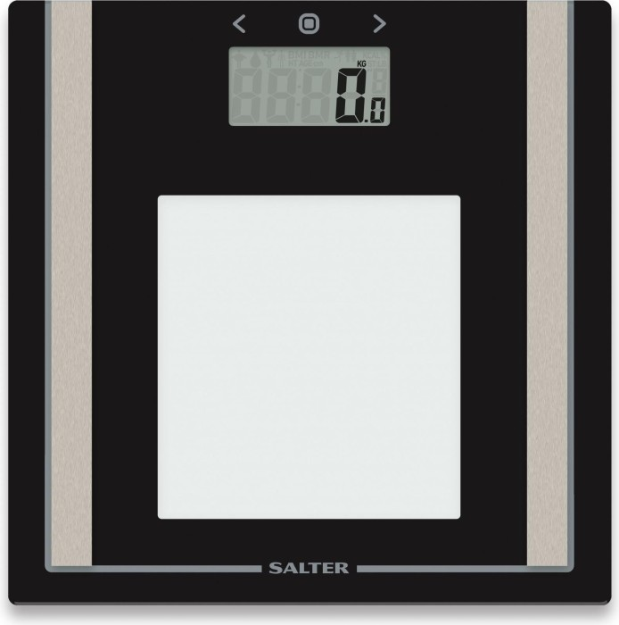 Salter 9112 Bk3r Electronic Body Analyser Scale Black Starting From