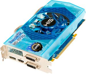 HIS Radeon HD 6770 IceQ X Turbo, 1GB GDDR5, 2x DVI, HDMI, DisplayPort (H677QNT1GD)