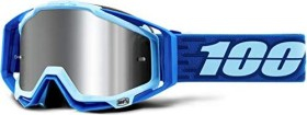 100% Racecraft+ Goggle rodion/injected silver flash mirror lens (50120-279-02)