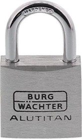 Burg-Wächter Duo 770 30 Alutitan, 5mm, 51mm, 2er-Set