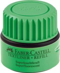 Faber-Castell Textliner 1549 refill, Nachfüllsystem, ST63 grün (154963)