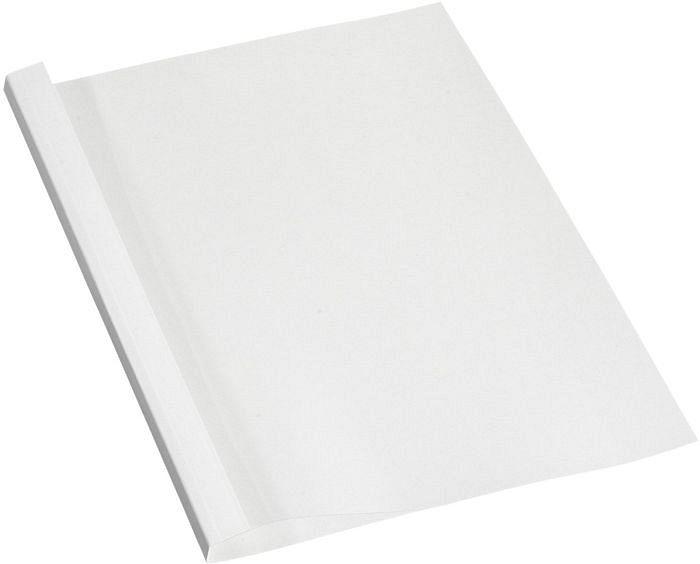 Fellowes Thermobindemappe A4, 150µm, weiß glänzend, 8 Blatt, 100 Stück (53151/5317001)