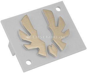 BitFenix Logo für Shinobi gold (BFC-SNB-150-AULOG-SP) -- © caseking.de