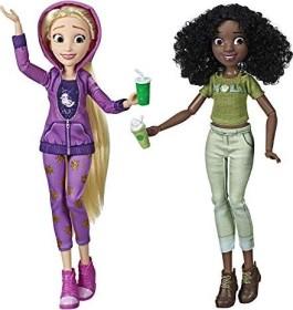 Hasbro Disney Prinzessin Comfy Squad Rapunzel und Tiana (E7418)