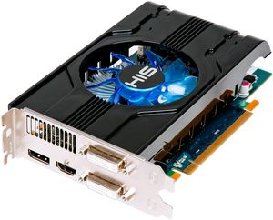 HIS Radeon HD 6770 Fan, 1GB GDDR5, 2x DVI, HDMI, DisplayPort (H677FN1GD)