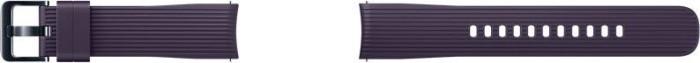 Samsung Silikonarmband 20mm für Galaxy Watch violett (ET-YSU81MVEGWW)