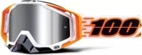 100% Racecraft+ Goggle illumina/injected silver flash mirror lens (50120-276-02)