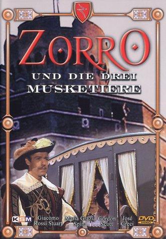 Zorro und die drei Musketiere -- via Amazon Partnerprogramm