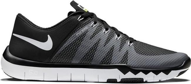 Nike Free Trainer 5.0 V6 black white volt dark grey (men) (719922 ... 4e415977a