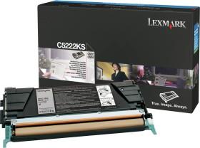 Lexmark Toner C5222KS schwarz