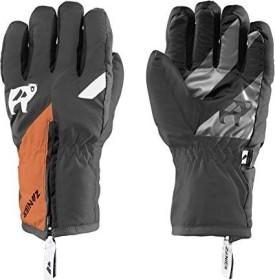 Zanier Sweety Skihandschuhe schwarz/neon orange (Junior) (12258-2056N)
