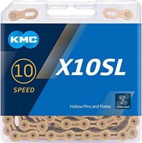 KMC X10SL chain gold (BX10SLT14)