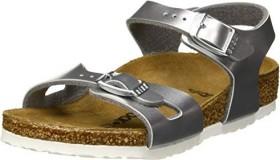 Birkenstock Rio Birko-Flor electric metallic silver (Junior) (1012517/1012518)