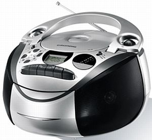 Grundig RRCD 2700 MP3 silber/schwarz