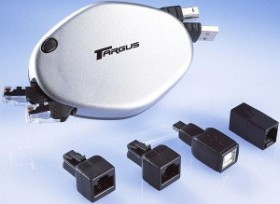 Targus Retractable Phone/Ethernet/USB Cord (ACC80EU)