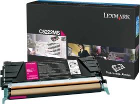 Lexmark Toner C5222MS magenta