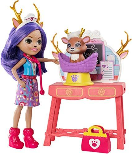 2b1ee3fb611 Mattel Enchantimals Danessa Deer & Sprint (GBX04) starting from ...