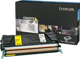 Lexmark Toner C5222YS yellow
