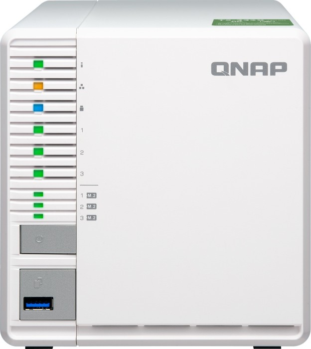 QNAP Turbo Station TS-332X-8G, 8GB RAM, 1x 10Gb SFP+, 2x Gb LAN