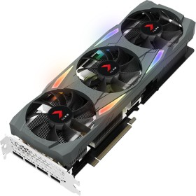 PNY GeForce RTX 3080 XLR8 Gaming Uprising Epic-X RGB Triple Fan LHR, 10GB GDDR6X, HDMI, 3x DP (VCG308010LTFXMPB)