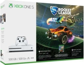 Microsoft Xbox One S - 500GB Rocket League Bundle weiß