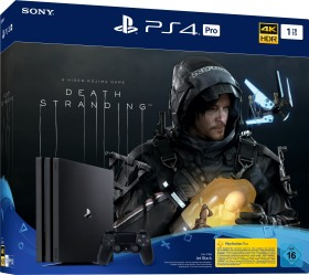 Sony PlayStation 4 Pro - 1TB Death Stranding Bundle schwarz