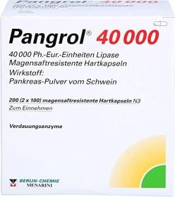 Pangrol 40000 Hartkapseln, 200 Stück