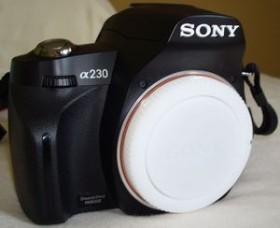 Sony Alpha 230 schwarz Body (DSLR-A230)