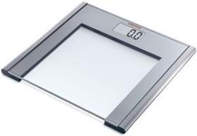 Soehnle Silver scythe electronic personal scale (61350)