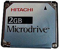Hitachi MicroDrive 2GB (HMS360402D5CF00)