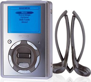 mpio HD100 MP3 player 20GB