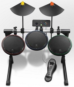 Logitech Wireless Drum kontroler (Xbox 360) (939-000197)