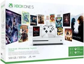 Microsoft Xbox One S - 500GB Starter Bundle weiß