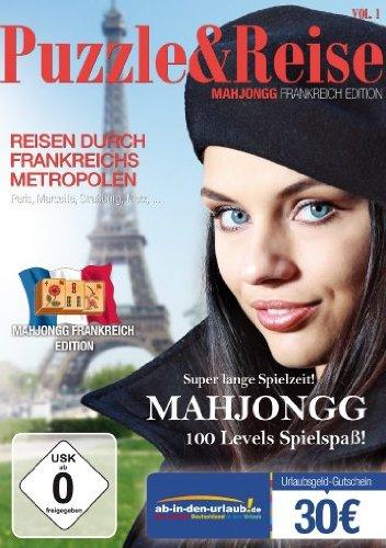 Puzzle & Reise Vol.1 - Mahjongg: Frankreich (deutsch) (PC) -- via Amazon Partnerprogramm