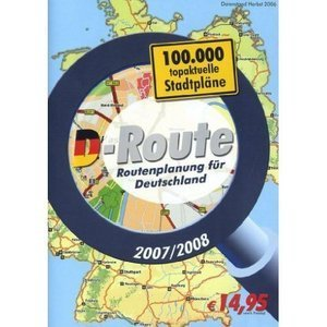 Buhl Data: D-Route 2007/2008 (deutsch) (PC) (KW40470)