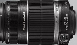 Canon EF-S   55-250mm 4.0-5.6 IS (2044B005)