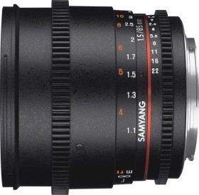 Samyang 85mm T1.5 AS IF UMC II VDSLR for Sony E black (1313006101)