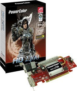 PowerColor Radeon HD 2400 Pro SCS3, 256MB DDR2, VGA, DVI, TV-out, PCIe (R61BL-ND3S)